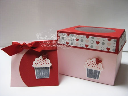 Cupcake Box & Card
