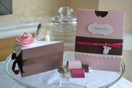CakeFavorBox&Invitation