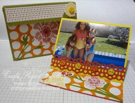 PlayfulPolkaDotsPhotoBox&Easel